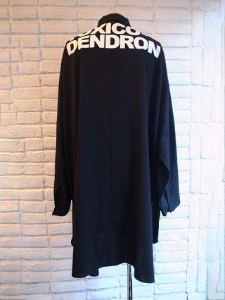 【yoshiokubo/ヨシオクボ】WOOL LONG SHIRTS (BLACK)