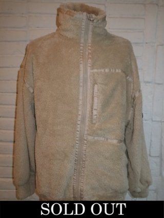 【SUPERTHANKS/スーパーサンクス】DOUBLE-FACE FUR BIC ZIP BLOUSON (BEIGE)