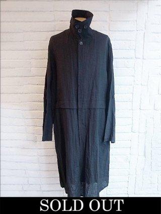 【nude:mm】Oversized Long Coat (BLACK)