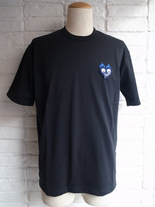 <img class='new_mark_img1' src='https://img.shop-pro.jp/img/new/icons8.gif' style='border:none;display:inline;margin:0px;padding:0px;width:auto;' />【roarguns】 ANTIBACTERIAL DEODORIZATION PLATING JERSEY  PLATING.J BIG S/STEE (BLACK)