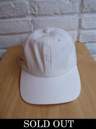 【yoshiokubo/ヨシオクボ】HATTORI-KUN CAP (WHITE)