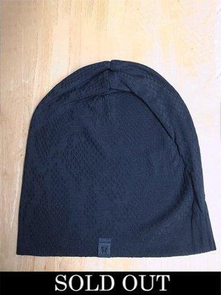【kiryuyrik/キリュウキリュウ】Python JQD Jersey knit cap (BLACK)