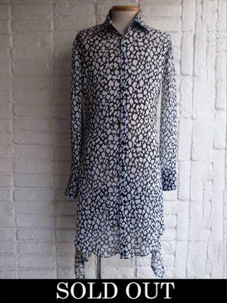 【kiryuyrik/キリュウキリュウ】Leopard YOURYU Flare Shirts (BLACK)