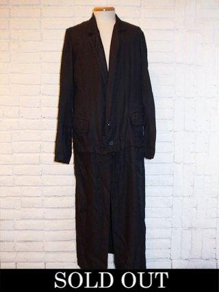 【nude:masahiko maruyama】Long Jacket (BLACK)