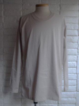 <img class='new_mark_img1' src='https://img.shop-pro.jp/img/new/icons8.gif' style='border:none;display:inline;margin:0px;padding:0px;width:auto;' />【nude:masahiko maruyama】40/2 28G Cotton Jersey Long Sleeve T-shirt (GREY)