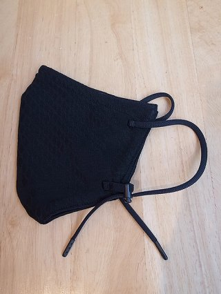 【kiryuyrik/キリュウキリュウ】Pythone JQD Jersey Face Cover (Black)