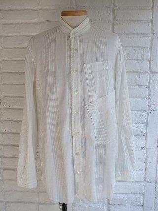 <img class='new_mark_img1' src='https://img.shop-pro.jp/img/new/icons8.gif' style='border:none;display:inline;margin:0px;padding:0px;width:auto;' />【nude:masahiko maruyama/nude:mm】Garment Dyeing Oversized Shirt (WHITE)