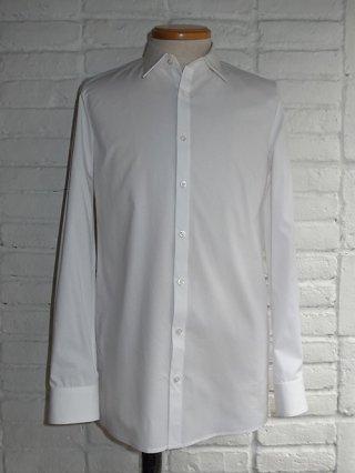 【GalaabenD/ガラアーベント】ブロードクロスストレッチレギュラーシャツ (WHITE)