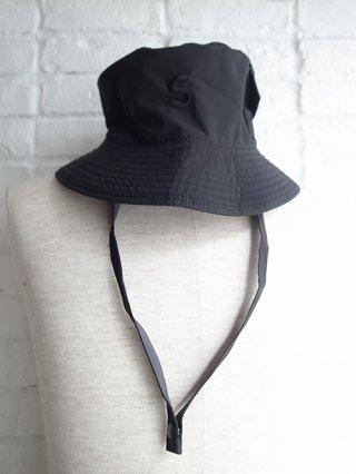 【SUPERTHANKS/スーパーサンクス】BUCKET HAT (BLACK/C.GRAY)