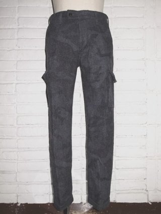 <font color=red>50%OFF</font>【AKM/エイケイエム】WORLD WORKERS PT163 SKINNY CARGO PANTS (GREY CAMO)