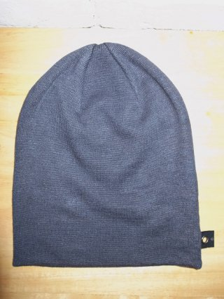 【wjk/ダブルジェイケイ】simple knit cap (BLACK)