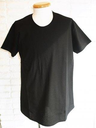 【GalaabenD/ガラアーベント】バランサーキュラー アートピケバルーン加工 Tシャツ (BLACK)