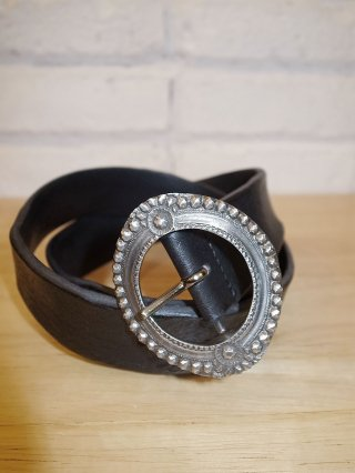 【roar/ロアー】roar×ANNAK WASH LEATHER Belt (Black)
