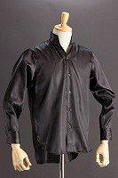 サテンスタンドカラーシャツ オープンタイプ #215