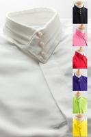 デザインカラー3つボタンシャツ #a061