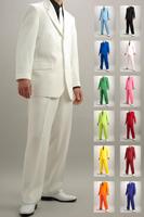 カラースーツ 13色 シングル 3つボタン