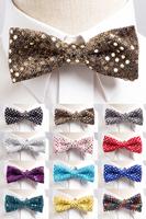 スパンコール蝶ネクタイ全12色