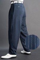 ズートパンツ ・zoot pants ペンシルストライプ #0414 ネイビーブルー
