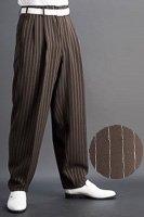ズートパンツ ・zoot pants ペンシルストライプ #0417 ブラウン
