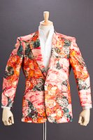 デザインジャケット #755 レッドの画像
