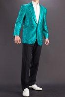 メタリック ラメジャケット #7700 グリーン