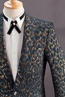 デザインジャケット#756 アラベスク模様 グリーン