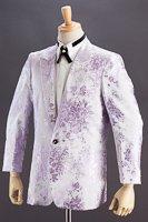 バラ織柄ジャケット