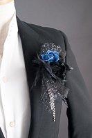 カトレアコサージュ#1705 ブルー