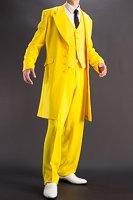 黄色いズートスーツ