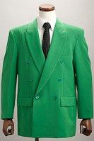 カラージャケット ダブル グリーン