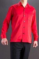 赤い開襟シャツ販売店