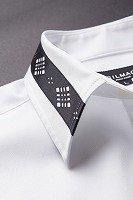 デザインカラー比翼シャツ #111  ホワイト