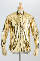 メタリックシャツゴールド #KB0002