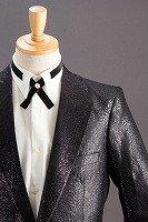 クロコダイル柄 シングル一つボタン ジャケット  #0527 ブラック
