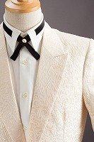 草織柄ジャケット#528 ピンクゴールド