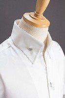 イタリアンカラーシャツホワイト