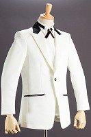 コンビ襟ジャケット #479 ホワイト