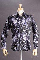 花柄シャツ #52 ベースカラーブラック