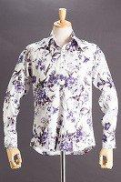 花柄シャツ #52 ベースカラーホワイト