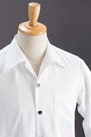長袖開襟シャツ