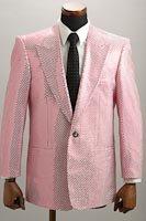 スパンコールジャケット シングル1ボタン  ピンク