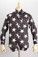 星柄シャツ