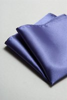 サテンポケットチーフ 37色 ディープパープル #13