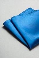 サテンポケットチーフ 全37色ロイヤルブルー