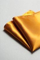 サテンポケットチーフ 全37色ブロンズ
