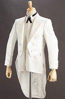 白い燕尾ジャケット