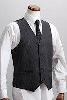 ピンストライプベスト・Zoot Vest   #0115