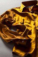 サテンシャツ レディースモデル ブロンズ #36