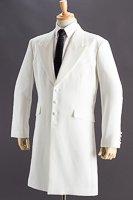 ロングジャケット・Zoot Jacket ホワイト #30002の画像