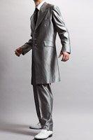 ズートスーツ・zoot suit シルバー #0148